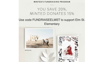 Minted Fundraiser