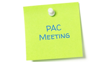March PAC Meeting
